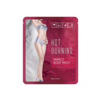 Missha Hot Burning Perfect Body Patch - Патч для похудения