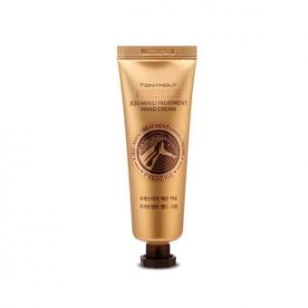 TonyMoly Prestige Jeju Mayu Treatment Hand Cream - Крем питательный антивозрастной для рук