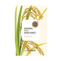 Natural Rice Mask Sheet - Маска осветляющая