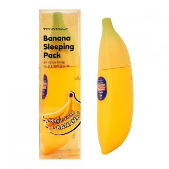TonyMoly Magic Food Banana Sleeping Pack - Ночная маска с экстрактом банана