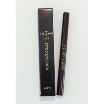 TonyMoly 7days Tatoo Eyebrow 01 - Жидкий карандаш для бровей