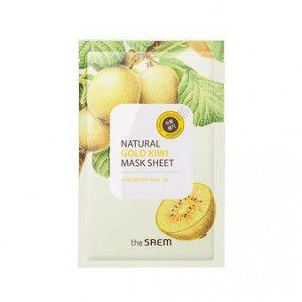 The Saem Natural Gold Kiwi Mask Sheet - Маска восстанавливающая