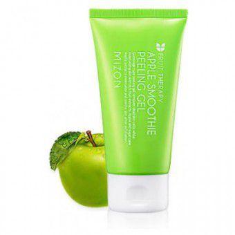 Mizon Apple Smoothie Peeling Gel - Целлюлозный пилинг-гель для лица c экстрактом яблока