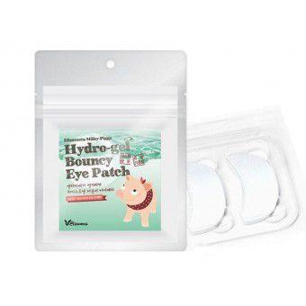 Elizavecca Milky Piggy Hydro-gel Bouncy Eye Patch - Набор патчей для глаз с жемчугом и гиалуроновой кислотой