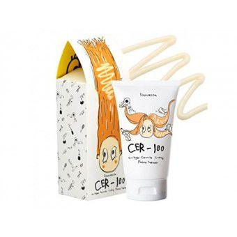 Elizavecca Cer-100 Collagen Ceramide Coating Protein Treatment - Коллагеновая маска для восстановления сухих и повреждённых волос