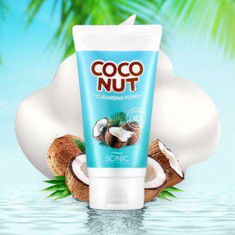 Scinic Coconut Cleansing Foam - Пенка с кокосовым маслом для очищения