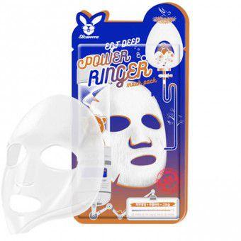 Elizavecca EGF Deep Power Ringer Mask Pack - Активная тканевая маска для лица с эпидермальным фактором роста EGF