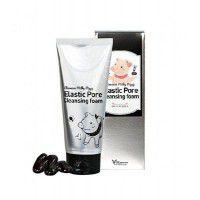 Milky Piggy Elastic Pore Cleansing Foam - Чёрная пенка для очищения пор на лице на основе древесного угля