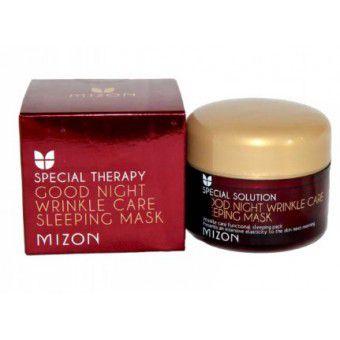 Mizon Good Night Wrinkle Care Sleeping Mask - Антивозрастная ночная маска с увлажняющим эффектом