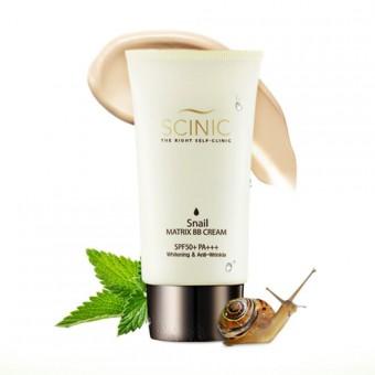 Scinic Snail Matrix BB Cream SPF50+++ - BB крем с муцином улитки