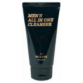 Village 11 Factory Men's All-in-One Cleanser - Мужская увлажняющая пенка-скраб для очищения лица