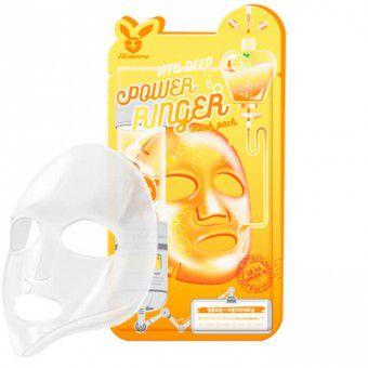 Elizavecca Vita Deep Power Ringer Mask Pack - Витаминизированная тканевая маска для повышения упругости лица