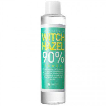 Mizon Witch-Hazel 90% Toner - Тоник с гидролатом гамамелиса для расширенных пор