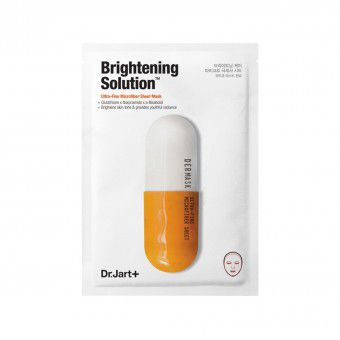 Dr.Jart+ Dermask Micro Jet Brightening Solution – Детокс маска для лица, выравнивающая тон кожи