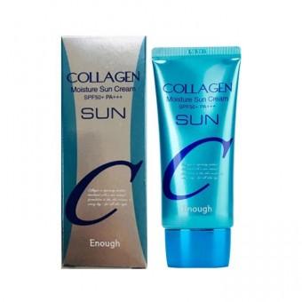 Enough Collagen Moisture Sun Cream SPF50+ PA+++ - Увлажняющий солнцезащитный крем с коллагеном