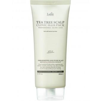 La'dor Teatree Scalp Hair Pack - Маска для волос и кожи головы с чайным деревом