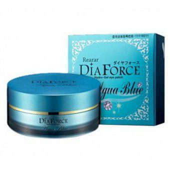Dia Force Hydrogel Eye Patch Aqua Blue (Premium) - Гидрогелевые патчи с минералами