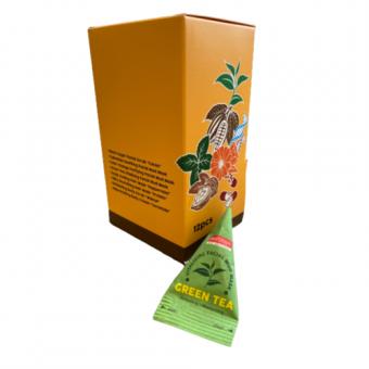 Purederm Green Tea Vitalizing Facial Mud Mask - Маска глиняная с зеленым чаем