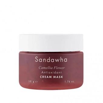 Sandawha Camellia Flower Antioxidant Cream Mask - Крем-маска антиоксидантная на основе камелии