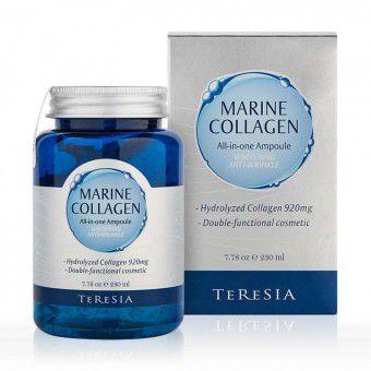 Teresia Marine Collagen Ampoule - Антивозрастная сыворотка с морским коллагеном