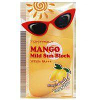 Magic Food Mango Mild Sun Block - Крем солнцезащитный