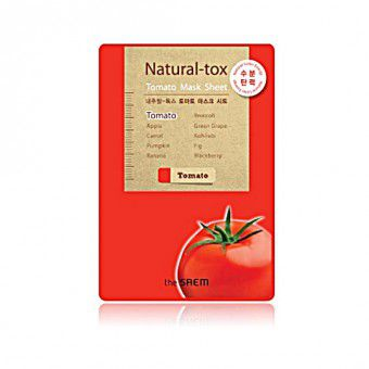 The Saem Natural – tox Tomato Mask Sheet - Маска - детокс