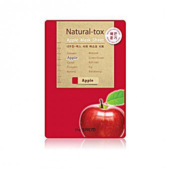 The Saem Natural – tox  Apple Mask Sheet - Маска - детокс