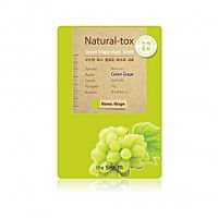 Natural – tox Green Grape Mask Sheet - Маска - детокс