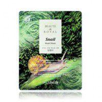 Beaute de Royal Mask Sheet - Snail - Улиточная маска