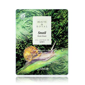 The Saem Beaute de Royal Mask Sheet - Snail - Улиточная маска