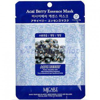 Mijin Acai Berry Essence Mask - Тканевая маска с ягодой асаи