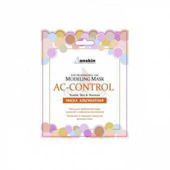 Anskin AC Control Modeling Mask / Refill 25 - Маска альгинатная для пробл.кожи, акне (саше)