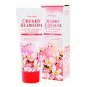 Deoproce Moisture Hand & Body Cherry Blossom Lovery - Крем для рук и тела питательный