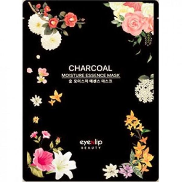 Charcoal oil moisture essence mask - маска для лица тканевая