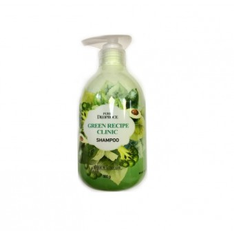 Deoproce Pure Green Recipe Clinic Shampoo - Шампунь для укрепления корней волос