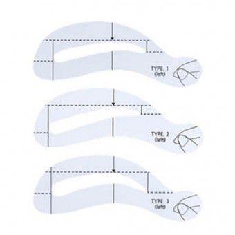 The Saem Eyebrow Guide - Трафарет для бровей