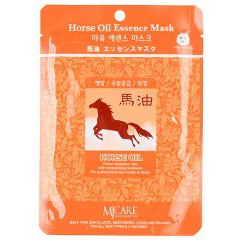 Mijin Horse Oil Essence Mask - Маска тканевая конский жир