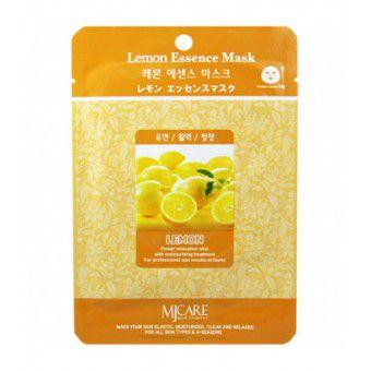 Mijin Lemon Essence Mask -  Маска тканевая с лимоном