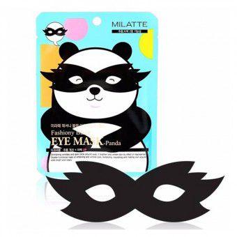 Milatte Fashiony Black Eye Mask-Panda - Маска от морщин и темных кругов вокруг глаз