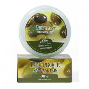 Deoproce Natural Skin Olive Nourishing Cream - Крем для лица и тела питательный на основе масла оливы
