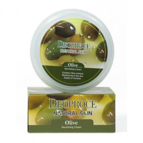 Natural Skin Olive Nourishing Cream - Крем для лица и тела питательный на основе масла оливы