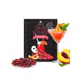 Berrisom Cocktail Recipe Mask -  Peach Crush - Маска для лица