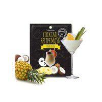 Cocktail Recipe Mask - Pina Colada - Маска для лица