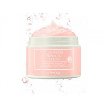 Secret Key Rose Water Base Gel Cream - Гель-крем с экстрактом розы