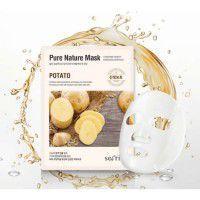 Secriss Pure Nature Mask Pack-Potato -  Маска для лица тканевая с картофелем