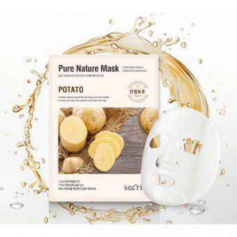 Anskin Secriss Pure Nature Mask Pack-Potato -  Маска для лица тканевая с картофелем