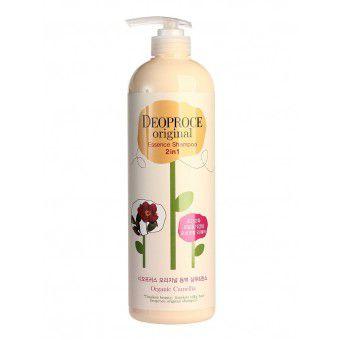 Deoproce Original Essence 2 In 1 Shampoo Camellia - Шампунь-бальзам 2 в 1 камелия