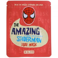 Dr.119 The Amazing Spiderman pore Mask - Маска от расширенных пор