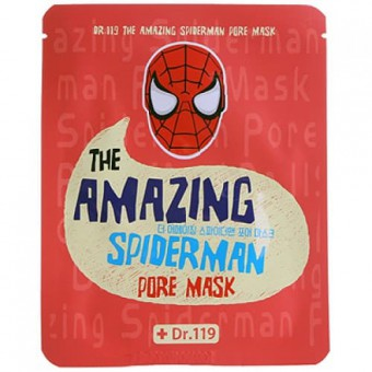 Baviphat Dr.119 The Amazing Spiderman pore Mask - Маска от расширенных пор