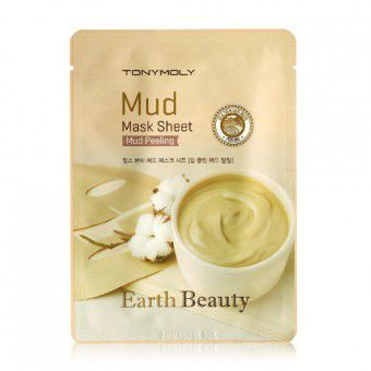 TonyMoly Earth Beauty Mud Mask Sheet - Маска для лица глиняная